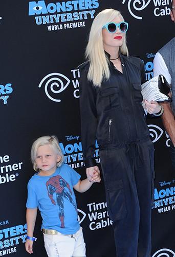 Gwen Stefani et son fils Zuma Nesta Rock