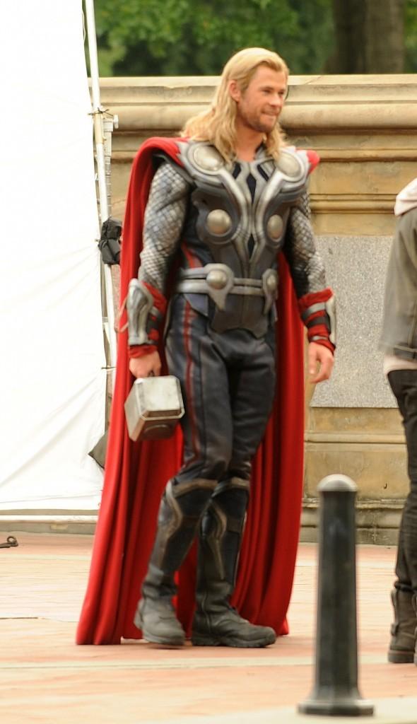 Chris Hemsworth, le dieu Thor est toujours aussi impressionnant !