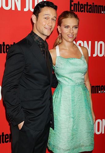 Scarlett Johansson et Joseph Gordon Levitt à New-York le 12 septembre 2013