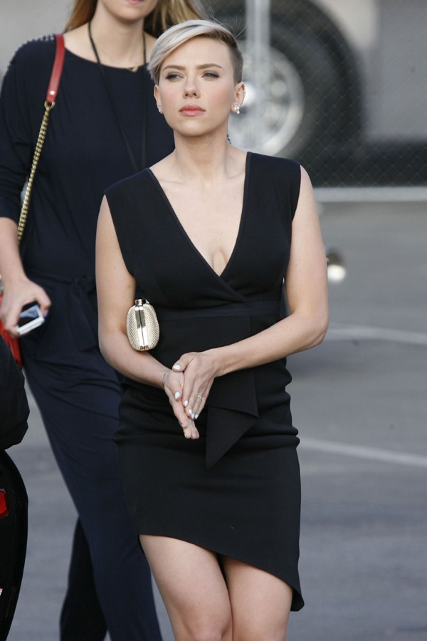 Scarlett Johansson à Santa Monica le 21 février 2015