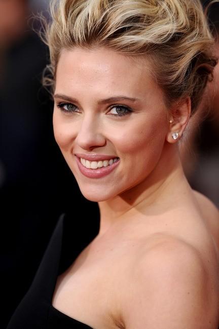 Scarlett Johansson à Hollywood, le 12 avril 2012.