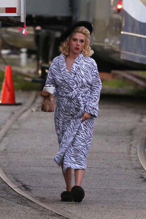 Scarlett Johansson : quatre mois après son accouchement, elle reprend du service pour les frères Coen !