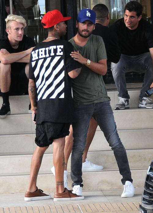 Photos : Scott Disick : banni par les Kardashian, il se rapproche de Tyga !