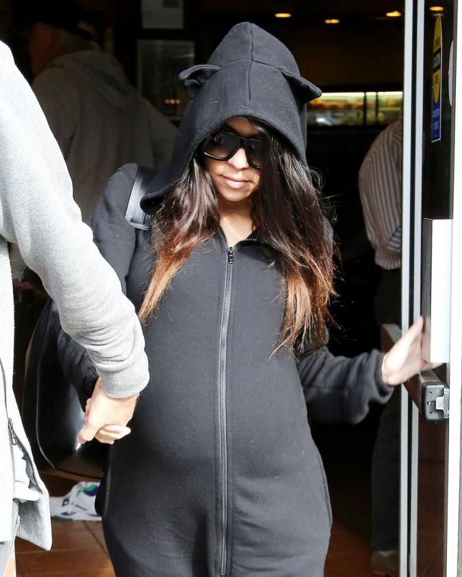 Kourtney Kardashian le 10 décembre 2014