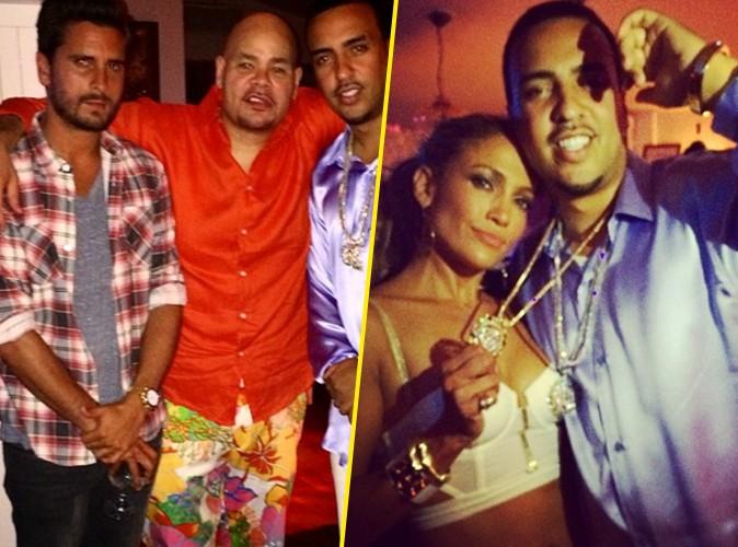 Photos : Scott Disick : plus très frais avec French Montana à l'anniversaire de Jennifer Lopez !