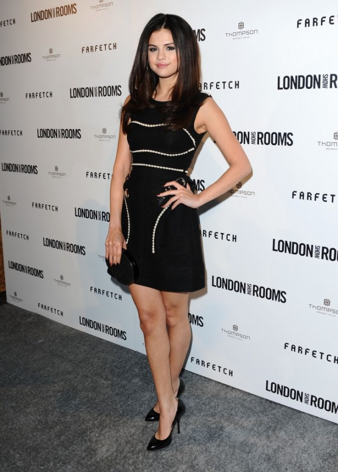 Selena Gomez, people, star, photos, look, mode, actrice, chanteuse, soirée, British Fashion Council Opening Party