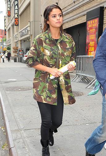 Selena Gomez à New York le 10 juillet 2014