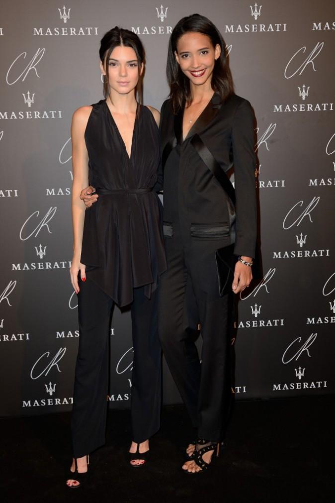 Kendall Jenner à la CR Fashion Book Party le 30 septembre 2014