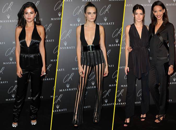 Selena Gomez, Cara Delevingne, Kendall Jenner… Trio de choc à la CR Fashion Book Party !