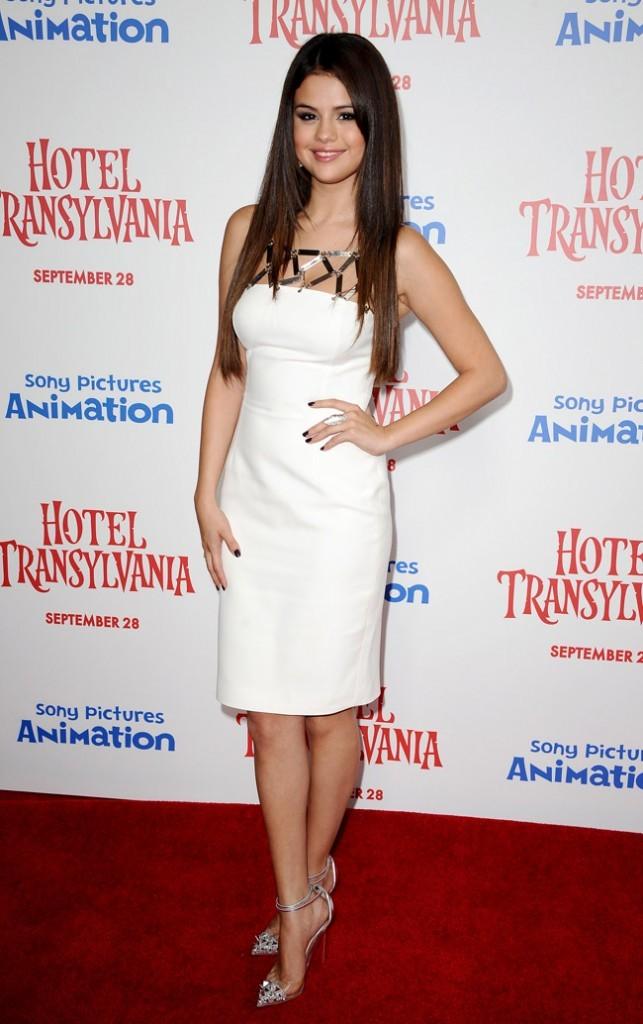 Selena Gomez le 22 septembre 2012 à Los Angeles