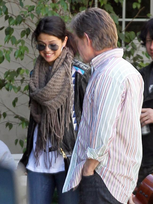 Selena Gomez à Sherman Oaks pour rencontrer l'équipe de son nouveau film le 8 avril 2013