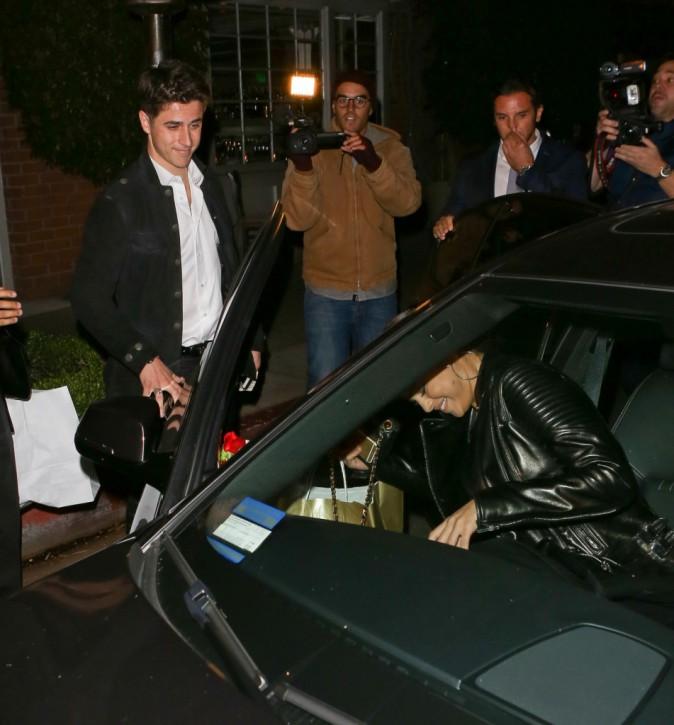 Selena Gomez et David Henrie le 16 novembre 2014