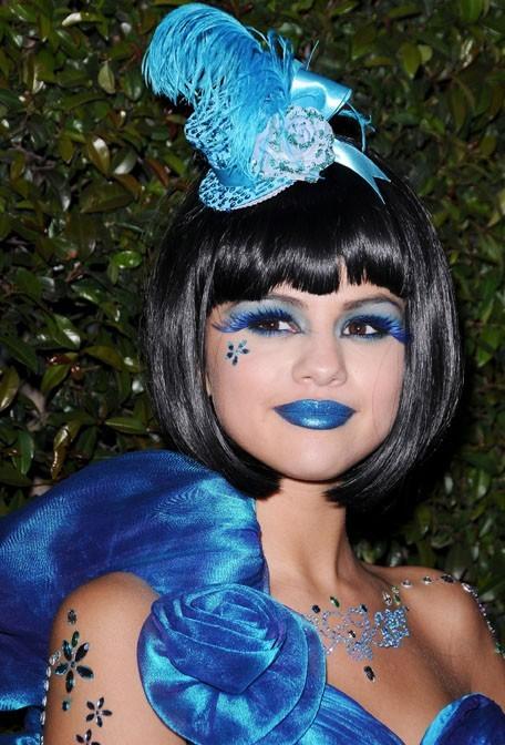 Elle veut voir la vie en bleu !