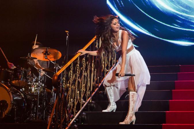 Selena Gomez en concert à Hidalgo, au Texas, le 8 mars 2014