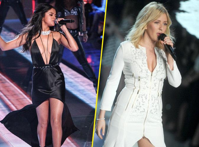 Photos : Selena Gomez et Ellie Goulding : deux performeuses au show Victoria's Secret 2015 !