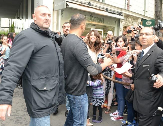 Selena Gomez, Paris, 3 septembre 2012.