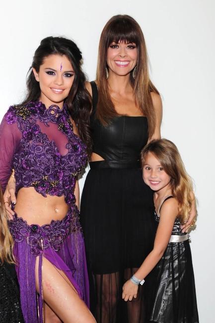 Selena Gomez, Brooke Burke et sa fille Rain