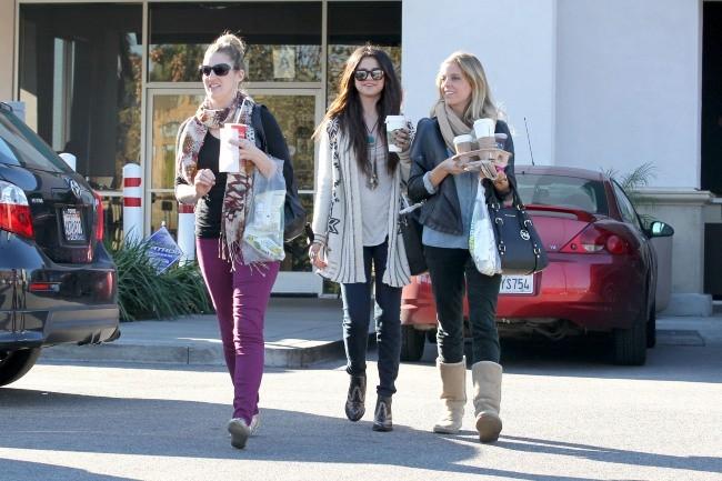 Selena Gomez le 16 janvier 2013 à Los Angeles