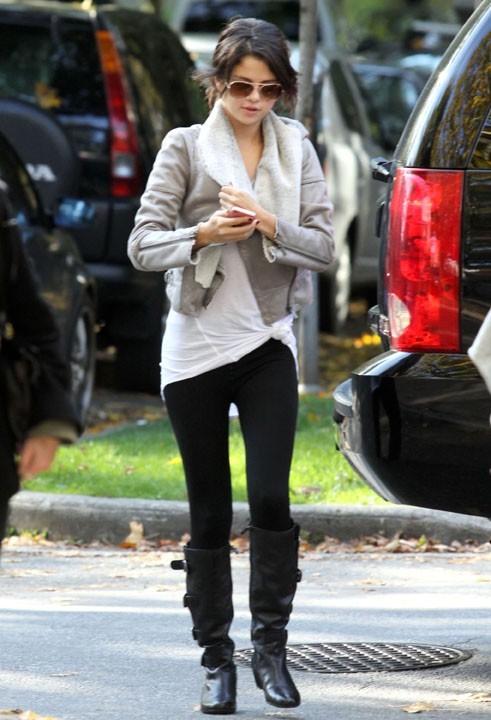 Selena Gomez à vancouver hier !
