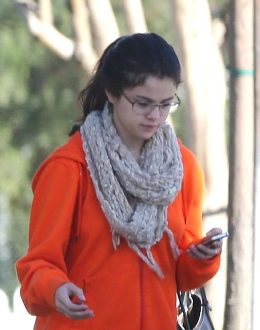 Selena Gomez à Studio City le 22 janvier 2013