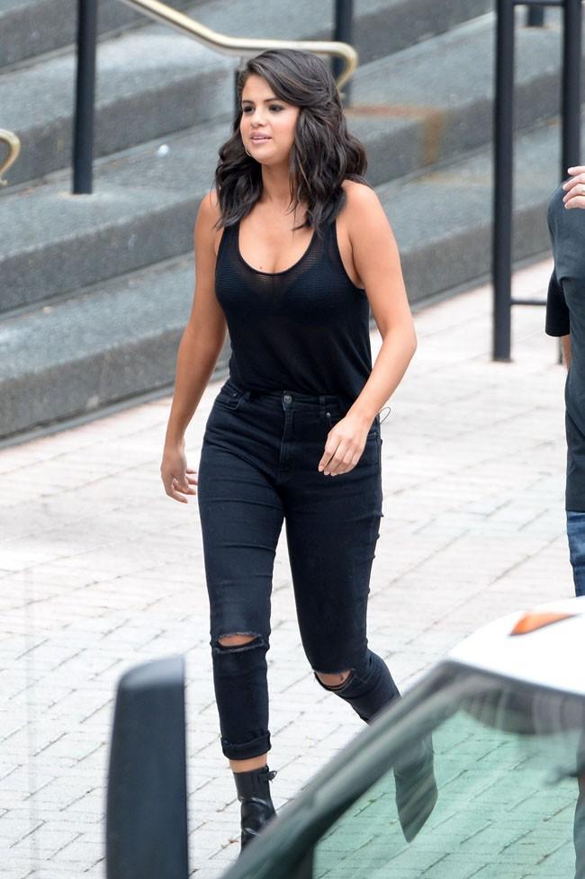Selena Gomez à la Nouvelle-Orléans le 11 mai 2015