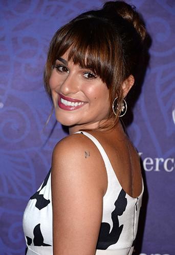 Lea Michele à Los Angeles le 23 août 2014