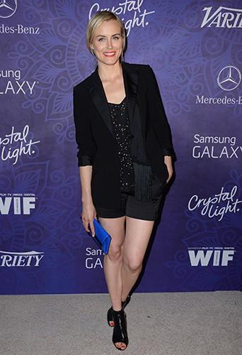 Taylor Schilling à Los Angeles le 23 août 2014