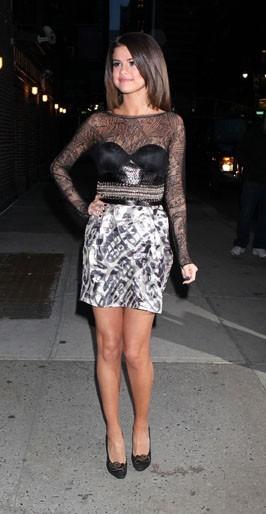 Elle a des jambes de top model !