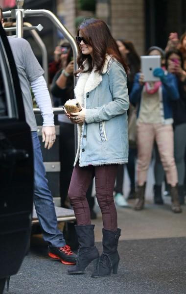Selena Gomez à New York, le 12 novembre 2012.