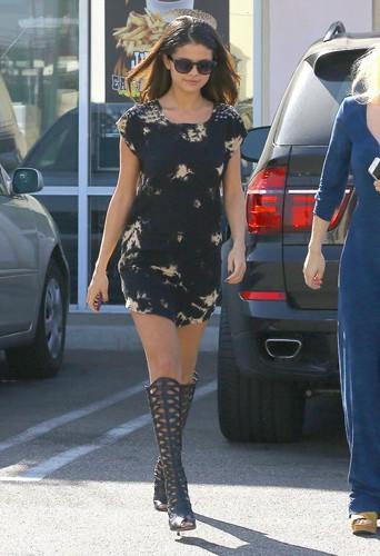 Selena Gomez à Los Angeles le 19 février 2014