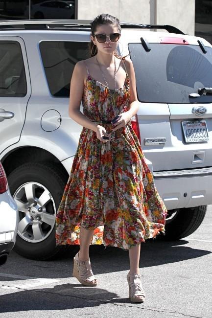 Selena Gomez à Encino en Californie, le 28 février 2013.