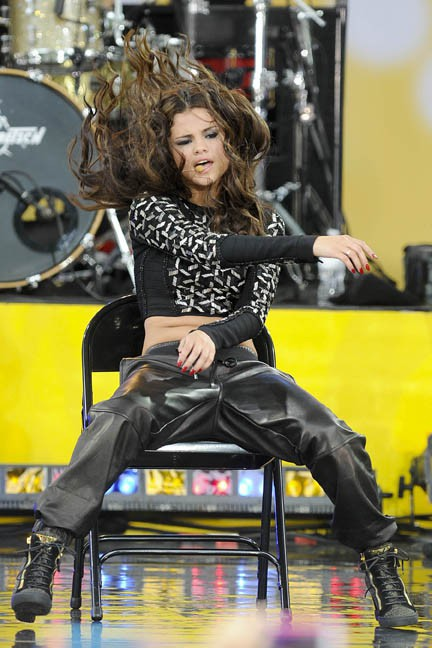 Selena Gomez en concert à Central Park (New-York) le 26 juillet 2013