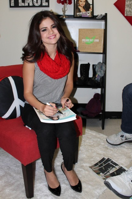 Selena Gomez en promo à New York, le 11 novembre 2012.