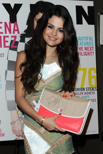 "Selena Gomez lors de la soirée ""Nylon Magazine and Coach party"" à West Hollywood, le 29 janvier 2013."