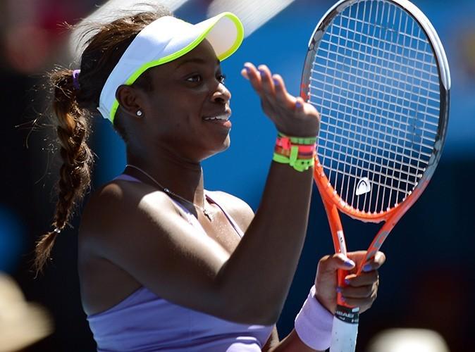 Sloane Stephens, la grande gagnante du match à Melbourne le 23 janvier