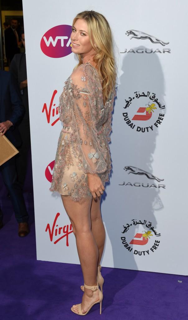 Maria Sharapova le 25 juin 2015