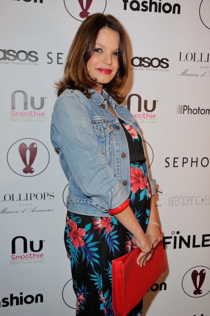 Severine Ferrer au lancement de la plateforme ASOS le 12 mai 2016