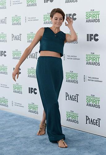 Shailene Woodley à Los Angeles le 1er mars 2014