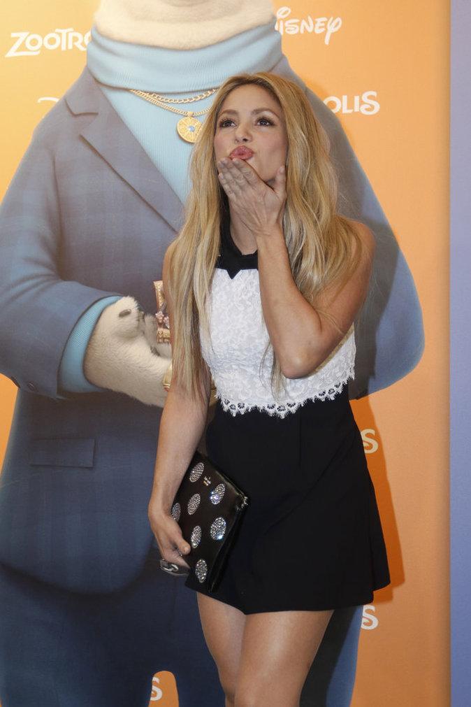 Shakira, toujours aussi éblouissante