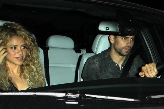 Shakira et Gerard Piqué à Los Angeles le 21 mai 2013