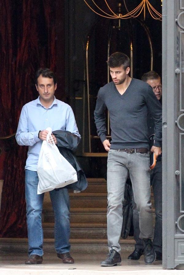 Le footballeur espagnol est venu voir sa chérie !