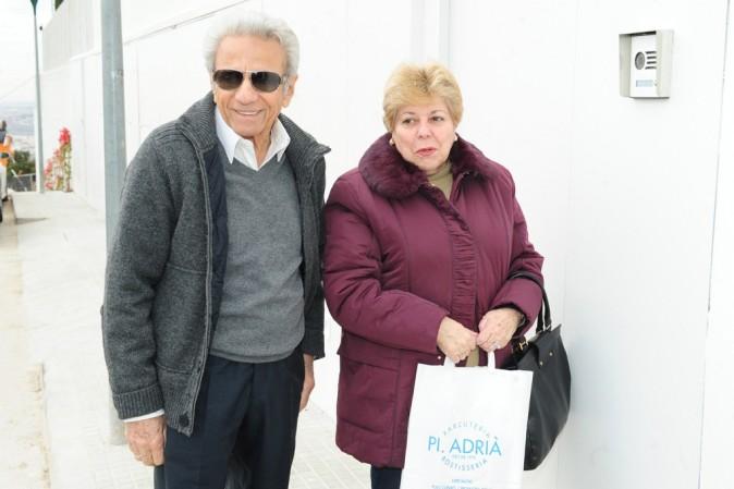 Les parents de Shakira en visite à la maternité le 27 janvier 2013