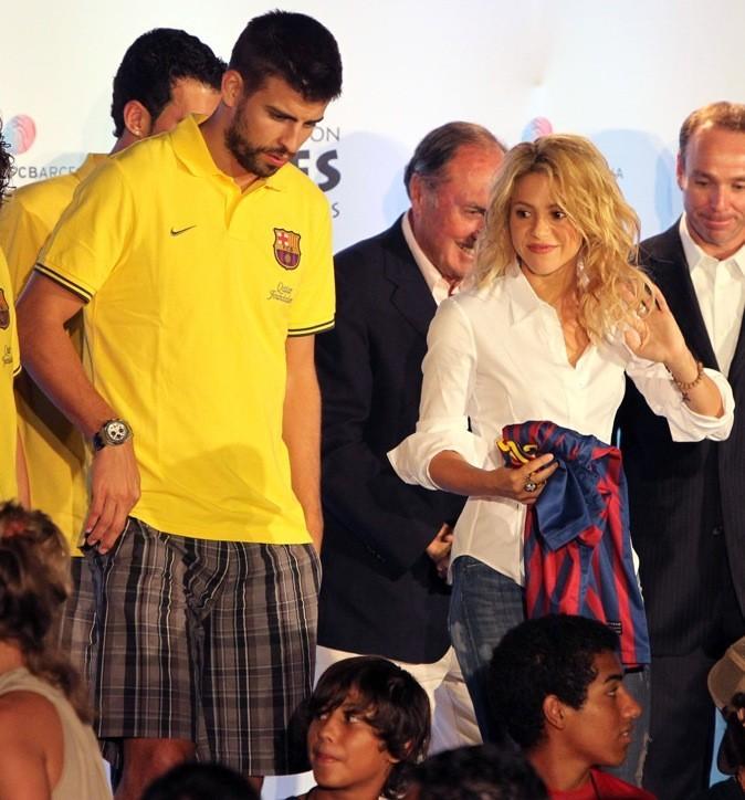 Shakira et son petit-ami Gerard Piqué