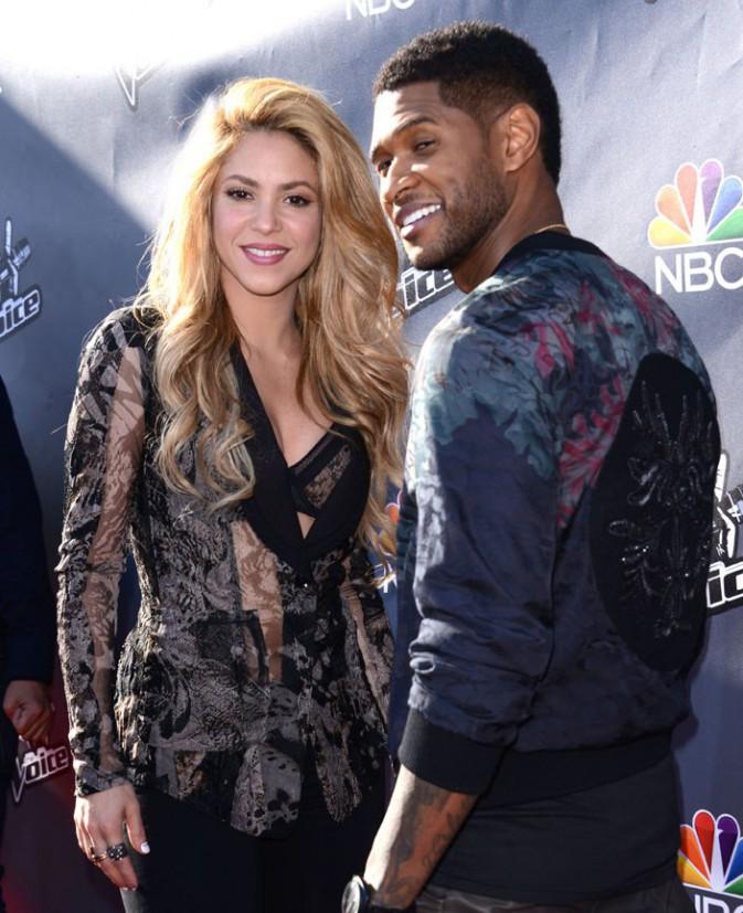 Shakira à une soirée The Voice organisée à Hollywood le 3 avril 2014