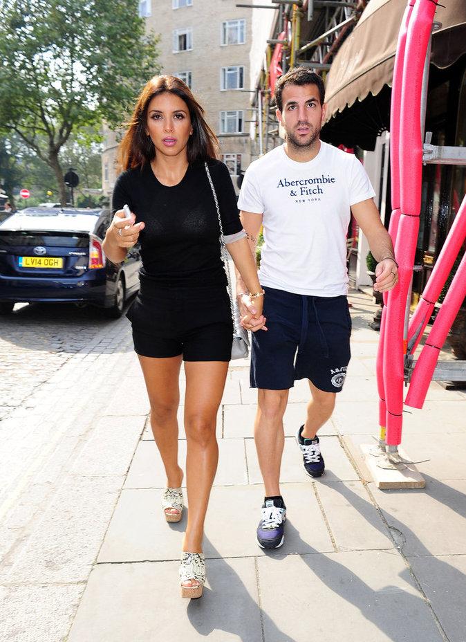Cesc Fabregas et Daniella Semaan