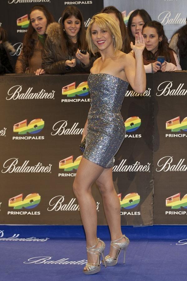 Shakira à Madrid hier soir !