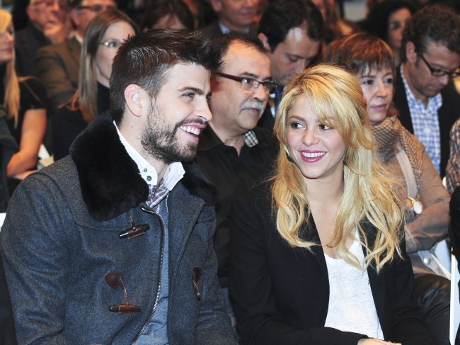 Gerard Piqué et Shakira, complices pendant la grossesse !