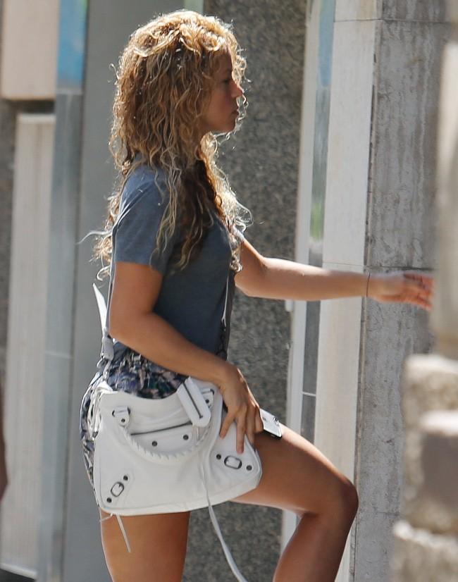 Shakira à Barcelone le 21 juillet 2015
