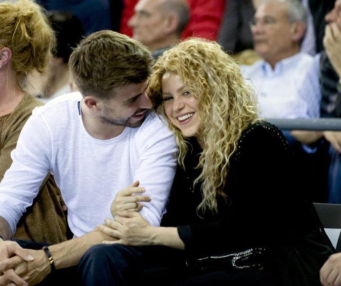 C'est le big love entre Shakira et son Gerard