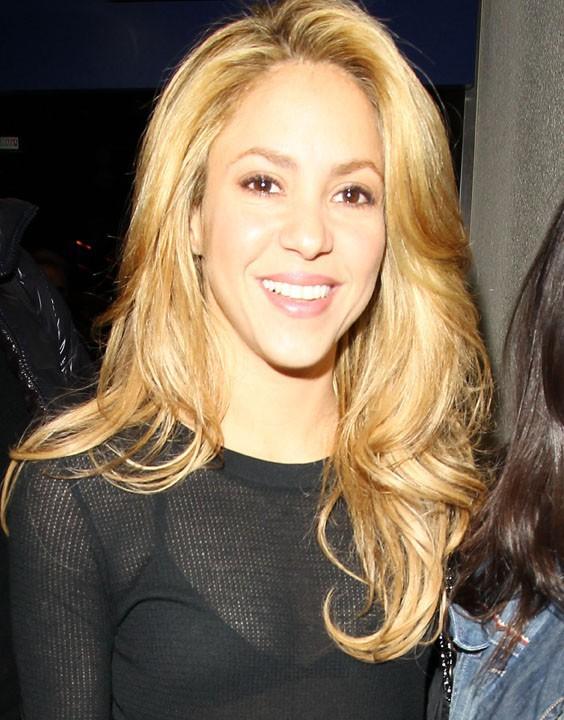 Shakira à l'aéroport de Los Angeles le 8 décembre 2013